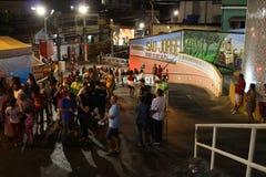 Célébrations de jour du ` s de St George en Rio de Janeiro image libre de droits