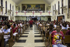 Célébrations du jour de St George en Rio de Janeiro Photos stock