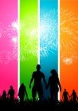 Célébrations heureuses illustration libre de droits