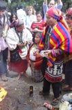 Célébrations maya de calendrier Images libres de droits