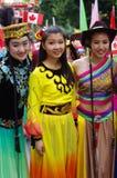 Célébrations multiculturelles de jour de Canada Photos libres de droits