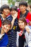 Célébrations multiculturelles de jour de Canada Image libre de droits