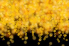 Célébrez le fond clair de taches floues de bokeh de nuit Photo libre de droits
