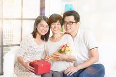 Célébrez le jour de mères Photos libres de droits