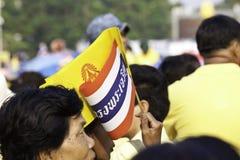 Célébrez le père jour @ le _Thailand du 5 décembre 2012 Photographie stock