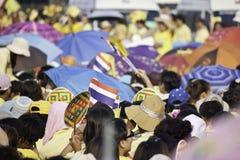 Célébrez le père jour @ le _Thailand du 5 décembre 2012 Photos stock