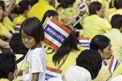 Célébrez le père jour @ le _Thailand du 5 décembre 2012 Photos libres de droits
