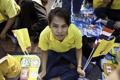 Célébrez le père jour @ le _Thailand du 5 décembre 2012 Photo libre de droits