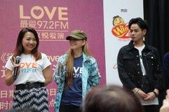 Célébrités de Singapour Mediacorp Image stock