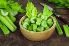 Céleri vert frais Image libre de droits