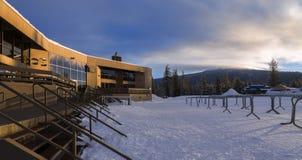 Célibataire Ski Resort de Mt Images libres de droits