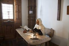 Célula de St Juan de la Cruz Fotos de archivo libres de regalías