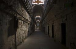 Célula del este de la cárcel del estado Fotos de archivo libres de regalías