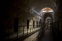 Célula del este de la cárcel del estado Foto de archivo libre de regalías