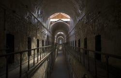 Célula del este de la cárcel del estado Foto de archivo