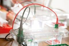 Célula electroquímica Fotografía de archivo libre de regalías
