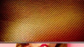 Célula grande de la tela del textura-grunge del fondo Imagen de archivo libre de regalías
