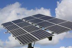 Célula solar Foto de Stock