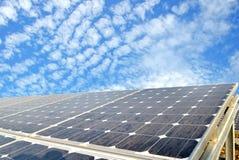 Célula solar Imagen de archivo libre de regalías