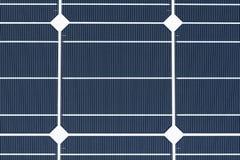 Célula solar Monocrystalline Fotos de Stock Royalty Free