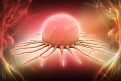 Células cancerosas Imágenes de archivo libres de regalías