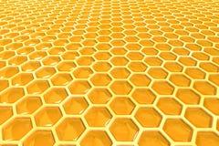Células de la miel Fotografía de archivo libre de regalías