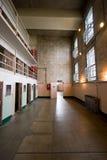 Células del bloque de D en Alcatraz fotografía de archivo