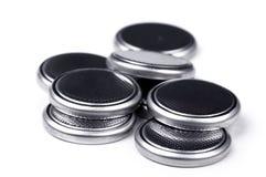 Células del litio Imagen de archivo libre de regalías