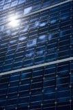 Células fotovoltaicas Imagen de archivo libre de regalías