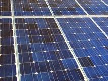 Células fotovoltaicas Fotos de archivo libres de regalías