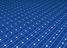 Células solares imagen de archivo