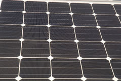 Células solares foto de stock