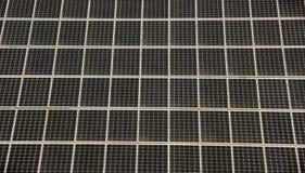 Células solares imagem de stock