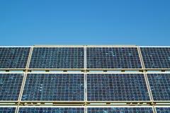 Células solares Imagen de archivo libre de regalías