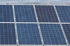 Células solares Fotos de Stock Royalty Free