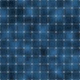 Células solares azules del Sl ilustración del vector