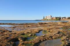 Cénico litoral Imagens de Stock Royalty Free