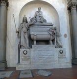 Cénotaphe de Dante Alighieri image stock
