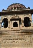 Cénotaphe de Holkar dans le fort de Maheshwar Photographie stock