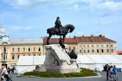 Céntrico, Cluj-Napoca, Transilvania Foto de archivo