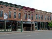 Céntrico, edificios de Fort Smith, AR Imagenes de archivo