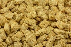 Céréale déchiquetée de blé entier image libre de droits