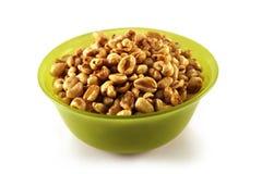 Céréale de blé avec l'enduit de miel Photo libre de droits