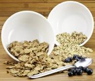 Céréale de petit déjeuner Photographie stock libre de droits