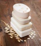 Céréale et avoine de savon Photographie stock libre de droits