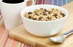 Céréale et raisins secs Photographie stock libre de droits