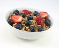 Céréale fruitée Photo libre de droits