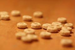 Céréale sur une surface en bois Image libre de droits