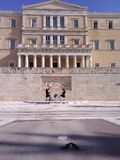 cérémonial d'Athènes Photographie stock