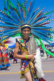 Cérémonial indien de tribus de Gallup Photos libres de droits
